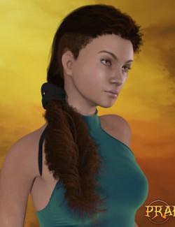 Prae-Revna Hair For La Femme Poser