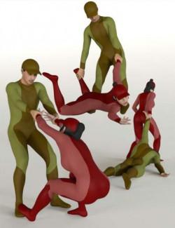 Dragging People Poses Volume 2 for Genesis 8