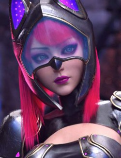 dForce Shadow Cat Outfit for Genesis 8.1 Female