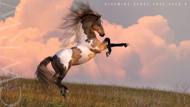 CWRW HW Horse Pose Pack 2