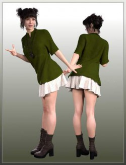 dForce Late Spring Outfit for Genesis 8 Female