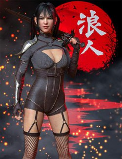 Ronin Warrior Outfit for Genesis 8 Females