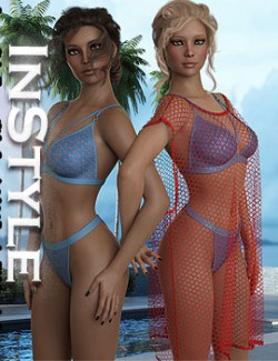 InStyle - Summer Style dForce outfit for Genesis 8 & 8.1 Females