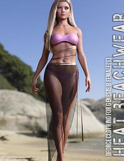 dForce Heat Beachwear for Genesis 8 Females