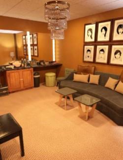 FG Talk Show Set and Dressing Room