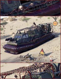 Z Rescue Hovercraft