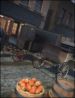 Vintage Carriages 1 - Barouche & Police Wagon