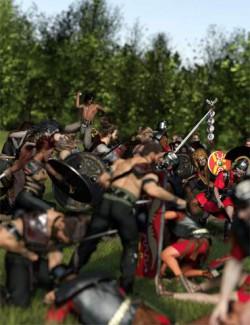 Now-Crowd Billboards- Roman Legionaries Centurions and Aquilifers (Roman Legion Vol I)