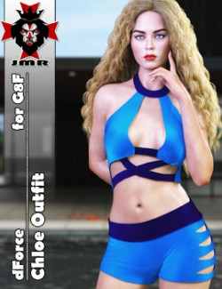 JMR dForce Chloe Outfit for G8F