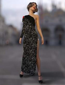 dForce Lauren Outfit for Genesis 8 and 8.1 Females
