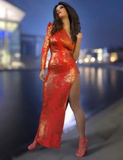 dForce Lauren Outfit Texture Expansion
