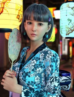 Vo Mieko for Genesis 8.1 Females