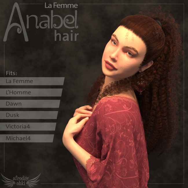 Anabel Hair for La Femme and more