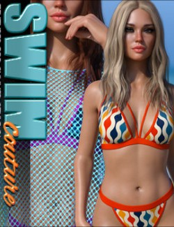 SWIM Couture Textures for Summer Style 01