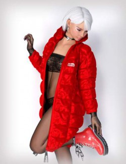 dForce Lali's Quilted Coat