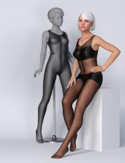 Lali's Bodystocking 02 for Genesis 8.1 Females