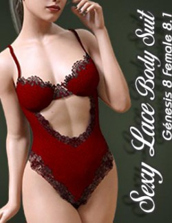 Sexy Lace Body Suit 01 for G8.1F
