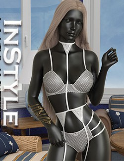 InStyle - Lace Crochet Trim Lingerie for G8.1