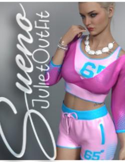 Sueno Juliet Homewear Outfit G8.1F