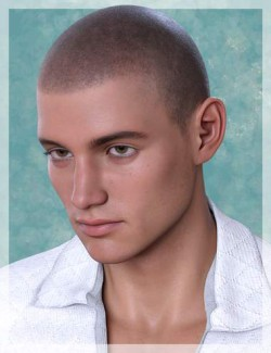 Shaved Hair V2 for Genesis 8.1 Males