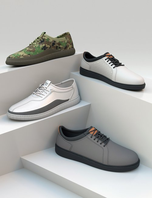 Sneakers for Genesis 8 and 8.1 Males