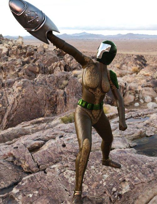 Space Scorpion for Genesis 8 Females