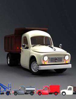 Toon Truck Iray Add-On