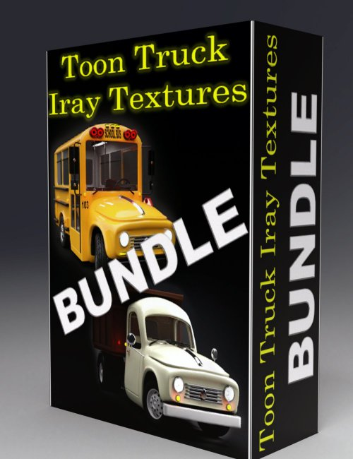 Toon Truck Bundle Iray Add-On