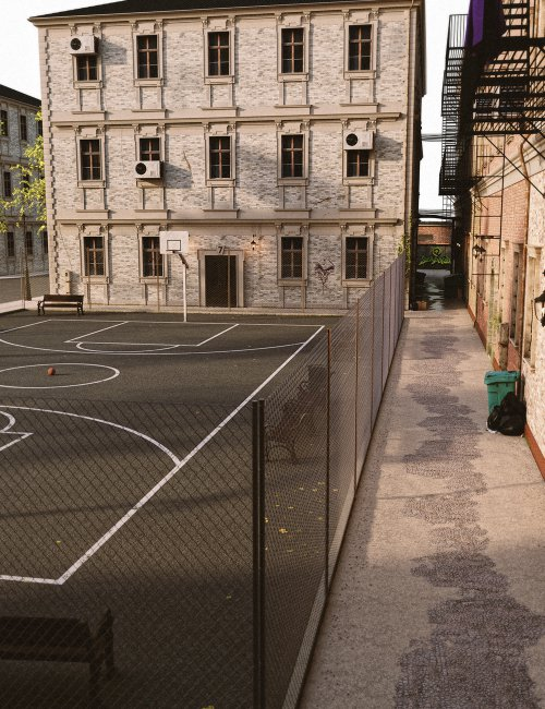 Brooklyn Basketball Court