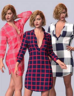 dForce Caroline Outfit Textures