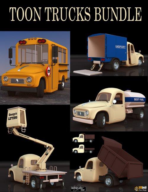 Toon Trucks Bundle