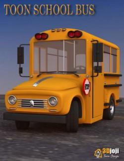 Toon School Bus