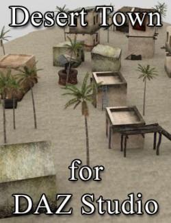 Desert Outpost for DAZ Studio