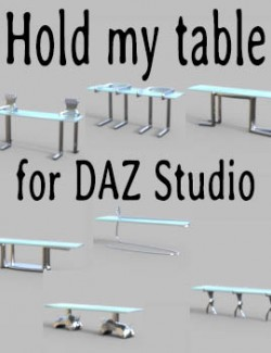 Hold my table for DAZ Studio