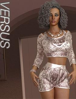 VERSUS- dForce Juliet Homewear for Genesis 8.1 Females