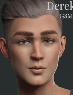 CGI Derek for Genesis 8 Male