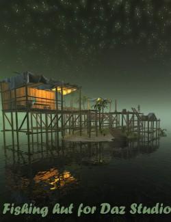 Fishing hut for Daz Studio