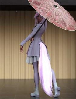 Kitsune Idol Hierarchical Poses for Kiko 8.1