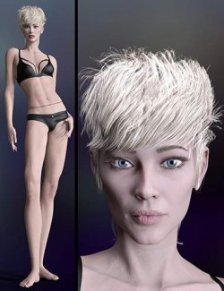 The Fashion Model HD for Genesis 8.1 Female