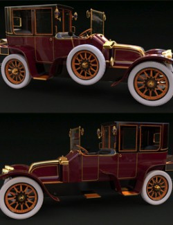 RENAULT TOWN CAR 1912 for DAZ Studio
