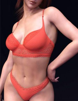 X-Fashion Private Lingerie Set For Genesis 8 and 8.1 Females