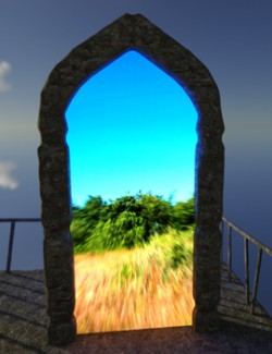 3D Scenery: Portals of the Muse