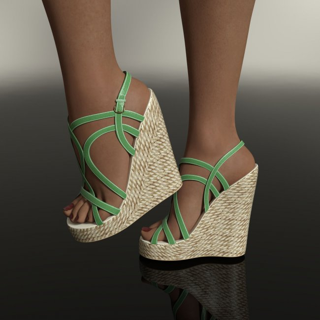 Natalie's Sandals for Genesis 8  and 8.1  Females