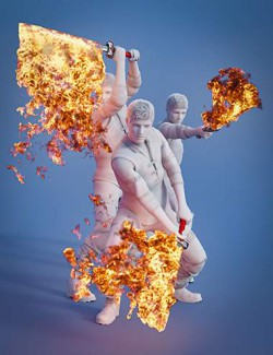 Pyromantix - Fire Swords