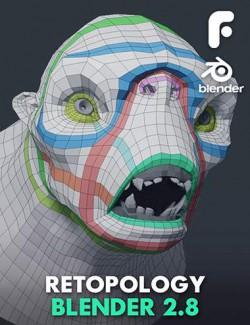 Retopology in Blender