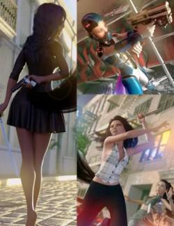 Swords and Guns Poses for Kiko 8.1
