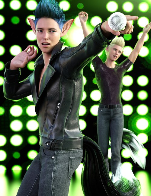 Z Music Idol Poses and Expressions for Kota 8.1
