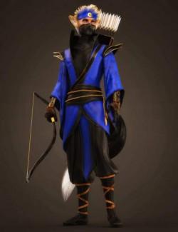 dForce Torikku Outfit for Genesis 8.1 Male