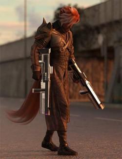 Mercenary Fox Hierarchical Poses for Kota 8.1