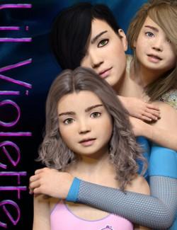 Lil Violette for Genesis 8 Females
